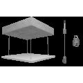 Подвесной потолок Рокфон Rockfon Eclipse (Роcкфон Еклипс) Be 1160x1160x40 Белый