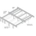 Подвесной потолок Рокфон Fibral Multiflex Baffle (Фибрал Мультифлекс Баффл) Multiflex Baffle 1200x300x50 Белый
