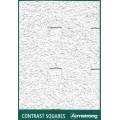 Подвесной потолок армстронг Contrast SQUARES Microlook (Контраст СКУАРЕС Микролук) 600x600x15 BP 9903 M4