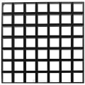 Решетчатый подвесной потолок Cellio C16 (150x150x37) - черный (Целлио) Разобраный 600x600x37mm BP9006M6JBKKIT